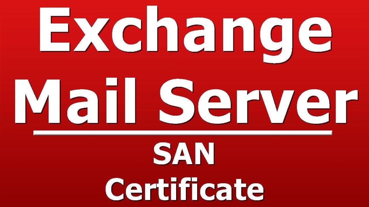 San Certificate Youtube