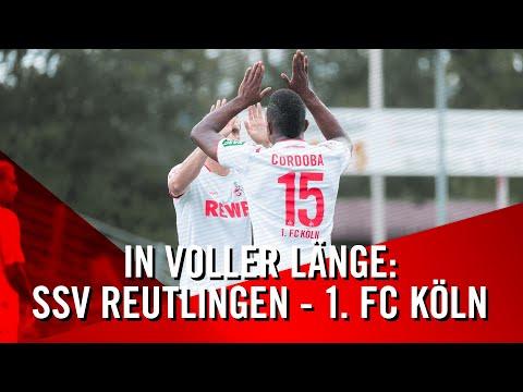In VOLLER Länge: SSV Reutlingen - 1. FC Köln