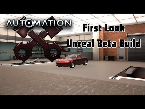 Automation Unreal Engine : Early Beta Impressions