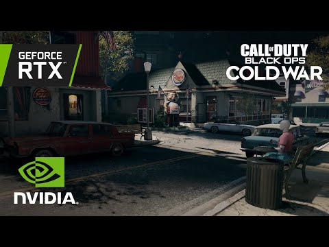 Call of Duty: Black OPS Cold War RTX Ray Tracing Video