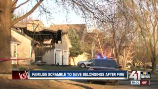 Crews work to repair homes after OP apartment fire
