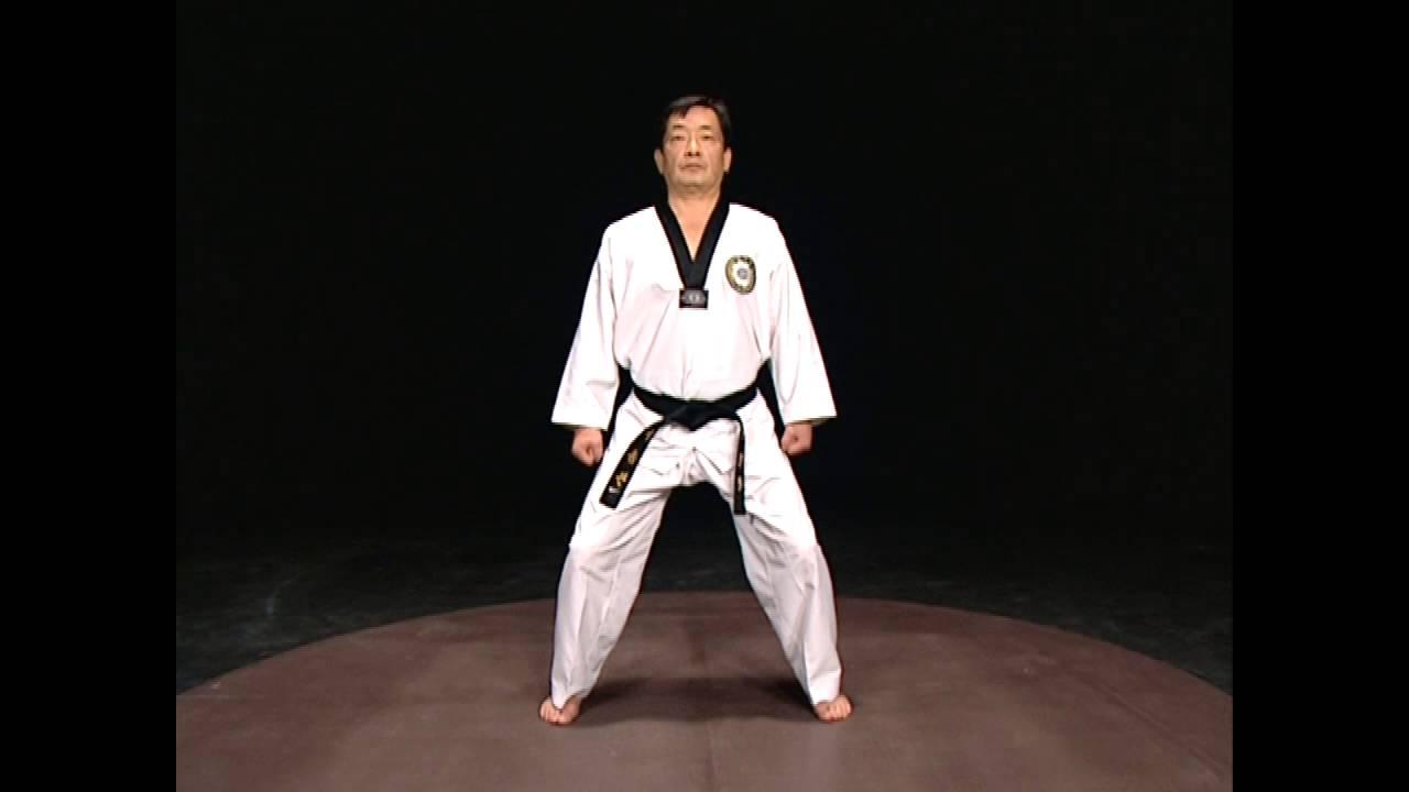 Taekwondo Basic Stances Youtube