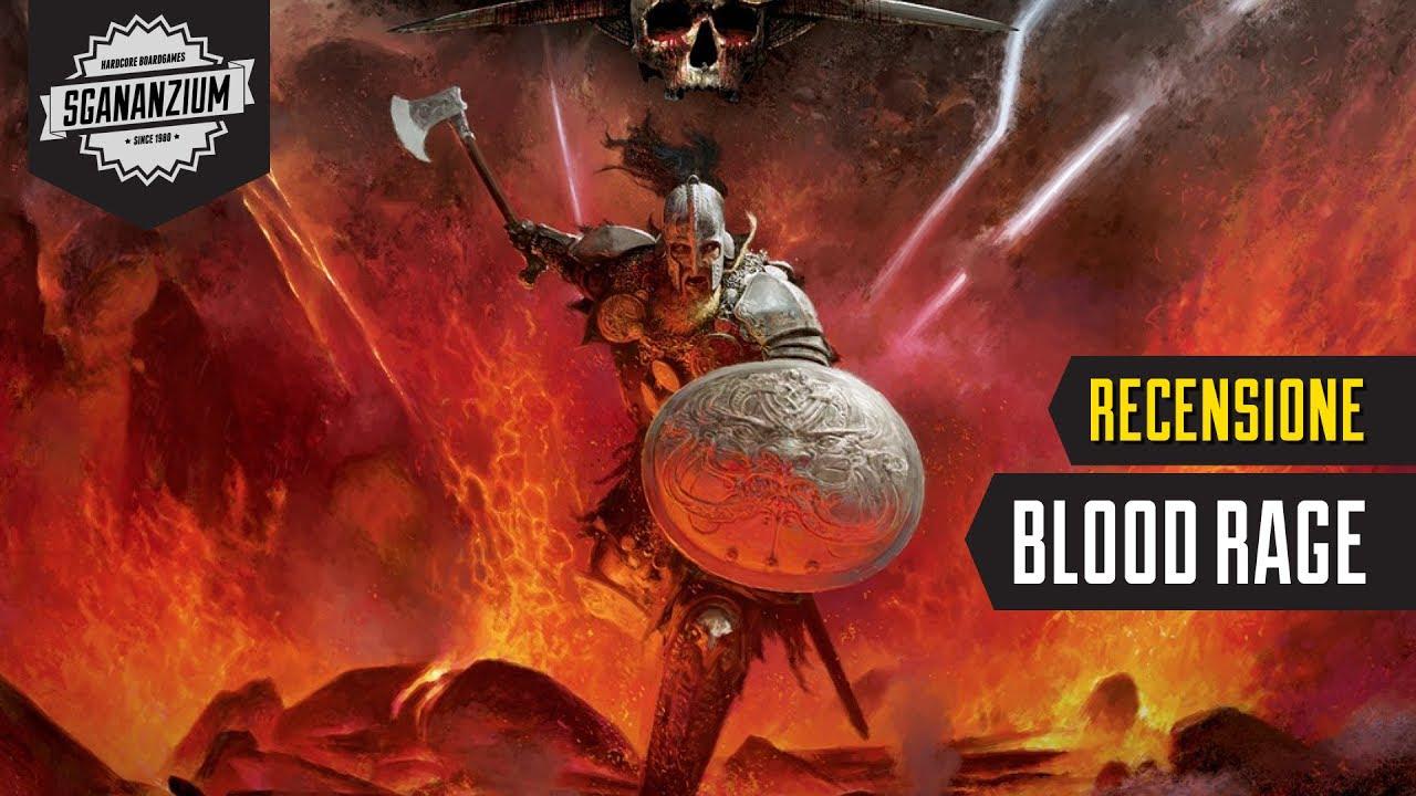 Blood rage recensione gioco da tavolo youtube - Blood bowl gioco da tavolo recensione ...