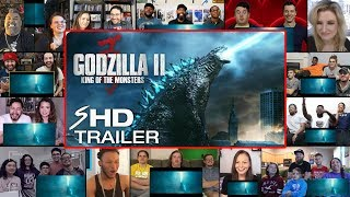 Godzilla: King of the Monsters - Final Trailer REACTIONS MASHUP
