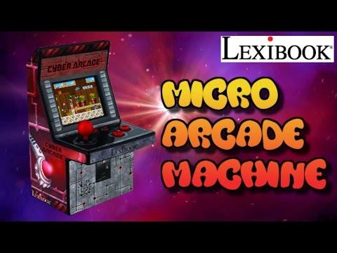 Micro Arcade Machine (250 Games!) Review : Lexibook Cyber Arcade