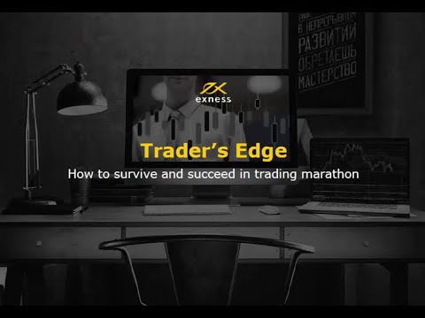 Forex Webinar on 'The edge of a trader. How to win a trading marathon.'