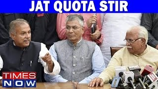 Jat Protests For Quota Continue