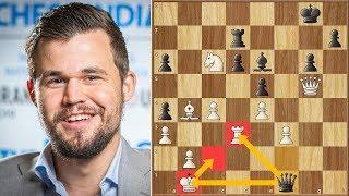 That's Just Impressive! || Aronian vs Carlsen || GCT Tata Steel Rapid (2019)