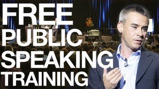 Public Speaking Training With Andy Harrington