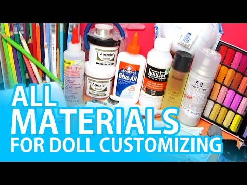All Materials For Doll Customizing