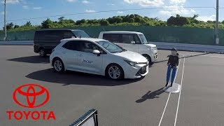 2019 Toyota Corolla – JNCAP Test of Toyota Safety Sense (Pedestrian Detection)