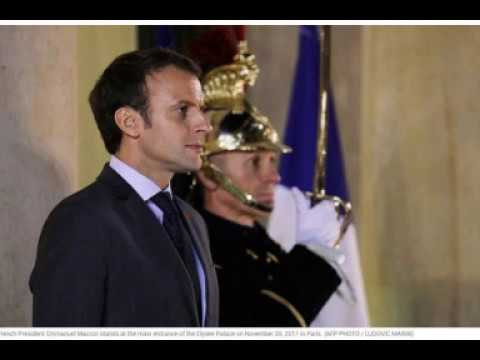 Macron To Trump: You Have One Month To Bring Middle East Peace Plan Or I Will!