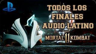 Mortal Kombat 11 | Torre Klásica  | Todos los Finales | Español Latino (All Endings)