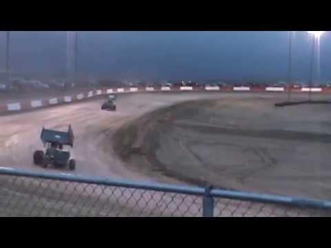 6/6/14 Anthony Farnsworth #10 Dash for Cash-Casper Speedway
