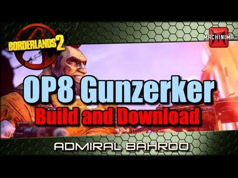 OP8 Gunzerker Build and Download