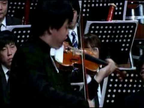 Ning Feng plays Paganini Duo for One Violin