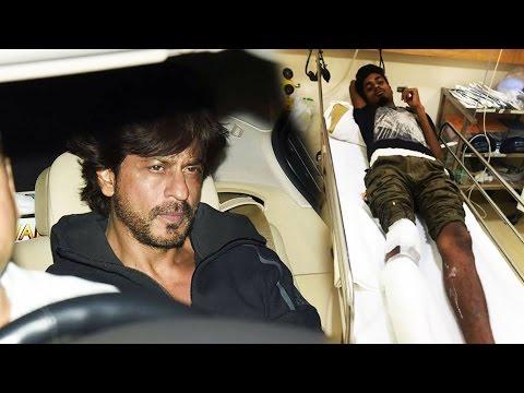 Shahrukh Khan's Car Ran Over A Photographer's Leg - What SRK Did Next Will Melt Your Heart