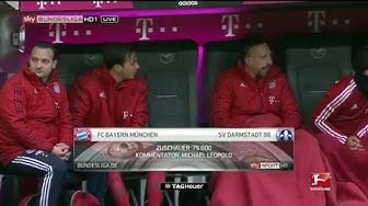 Bayern  SV Darmstadt 98 3:1 2015/16