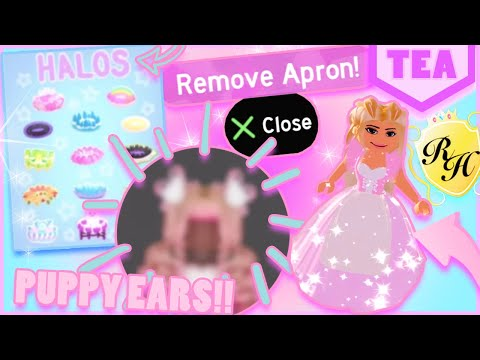 Puppy Ears R Coming New Apron Toggle Summer Halo Moar Royale
