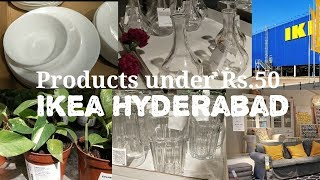 IKEA Hyderabad - products under Rs. 50