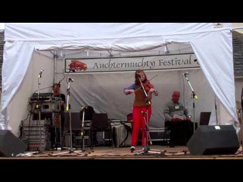 Scottish Fiddle Music Festival Auchtermuchty Fife Scotland August 11th