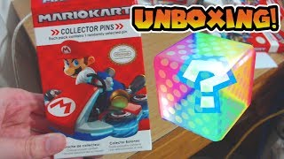 Mario Kart Collector Pins Unboxing!