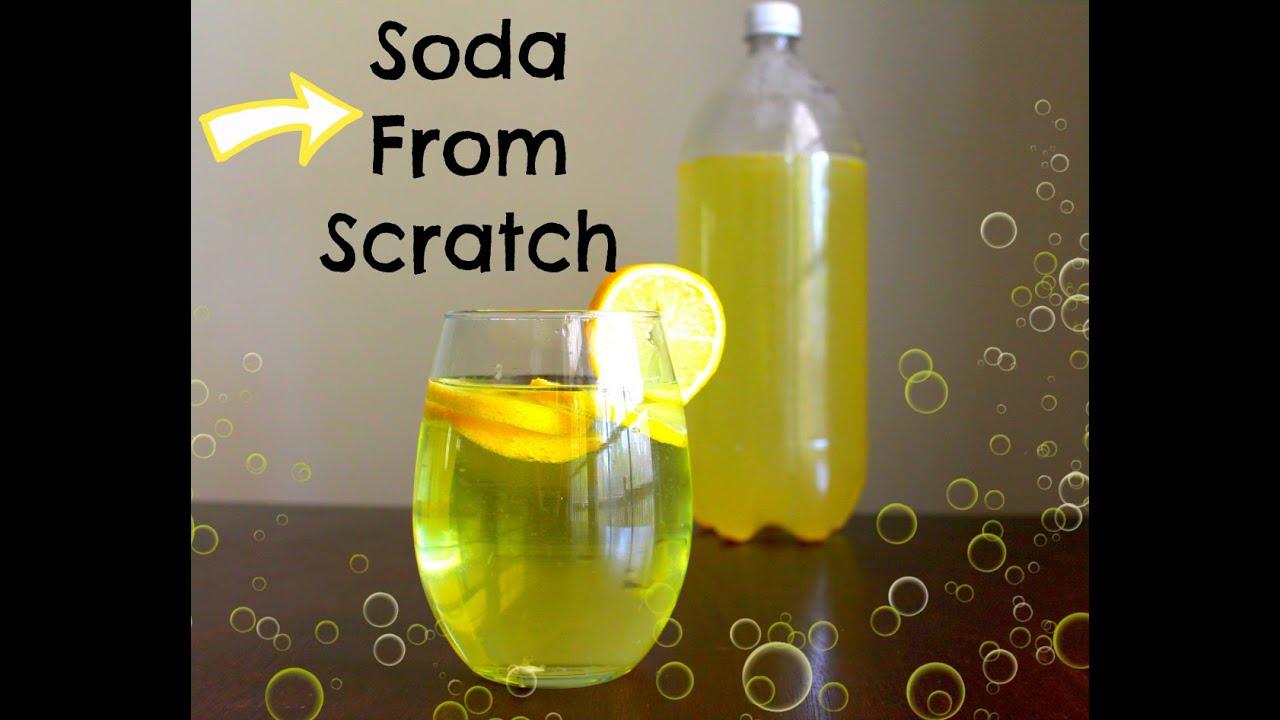Easy homemade soda recipes