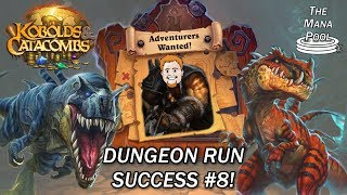 Dinosaurs Vs Darkness - Hunter Dungeon Run | Hearthstone
