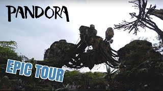Most Comprehensive Tour of Pandora: The World Of Avatar at Disney's Animal Kingdom! (Part 1)