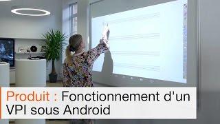 Présentation du Videoprojecteur Interactif Tactile SPE-400WIT, fonctionnant sous Android