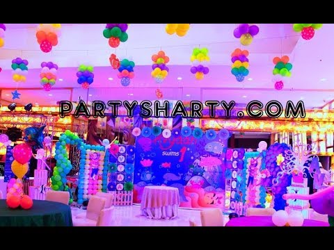 Underwater themed party   Aqua themed birthday party   Ocean themed birthday party