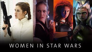 Women in Star Wars: Why we love these SW Heroines from the OT, PT, EU and cartoons