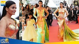 Aishwarya Rai Looking Gorgeous With Cute Daughter Aaradhya At Cannes Film Festival 2019