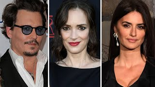 Winona Ryder And Penelope Cruz Defend Their Ex Johnny Depp In Amber Heard Legal Battle