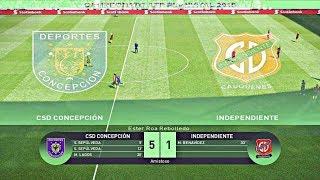 (Noche Lila) Deportes Concepcion Vs Independiente Cauquenes (5vs1)