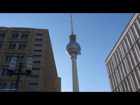 Panorama-Blick vom Berliner Fernsehturm (11.10.2015)