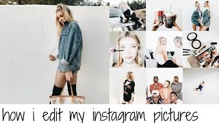 HOW I TAKE & EDIT MY INSTAGRAM PICTURES (Bri Hall)