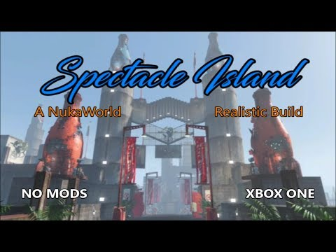 Fallout 4 Spectacle Island (A Nuka World Themed settllement build)