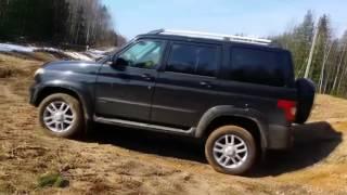 УАЗ Патриот 2016-2017 по грязи и по бездорожью видео