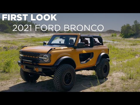How The Numbers Stack Up Between The 2021 Ford Bronco And Jeep