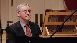J.S. Bach: The Art of Fugue (BWV 1080), Contrapunctus I; Davitt Moroney, harpsichord 4K UHD