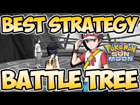 Best Battle Tree Team Strategy Guide - Win Battles EASY - Pokemon Sun and Moon | Austin John Plays