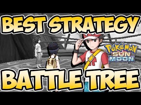 Best Battle Tree Team Strategy Guide - Win Battles EASY - Pokemon Sun And Moon | Austin John Plays