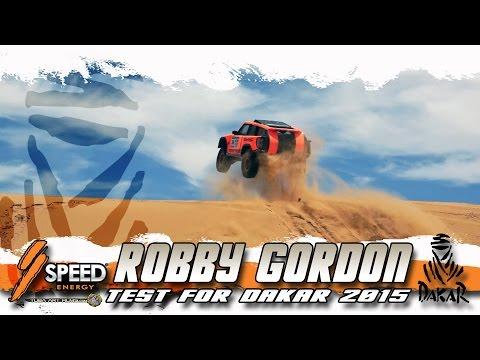 Robby Gordon test for DAKAR 2015