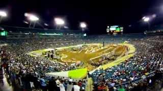 GoPro HD: Jacksonville Race Monster Energy Supercross 2011