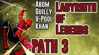 Labyrinth of Legends 3rd Path LIVE!!! | Marvel Contest of Champions
