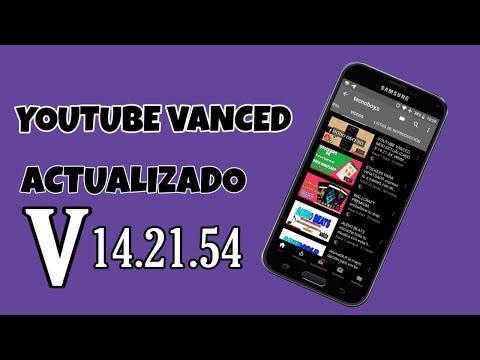 YOUTUBE VANCED MOD ACTUALIZADO V 14.21.54. White + black