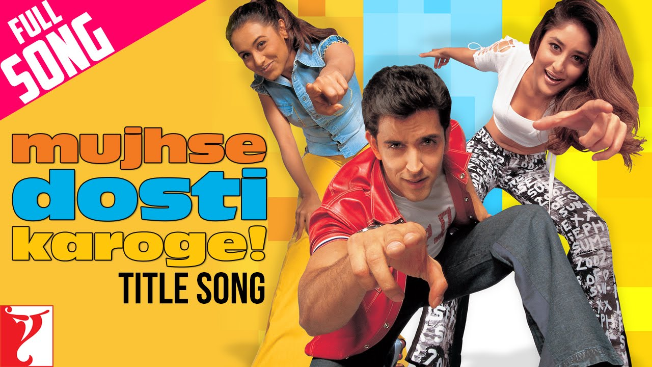 Dosti Lyrics and video of Songs from the Movie Dosti