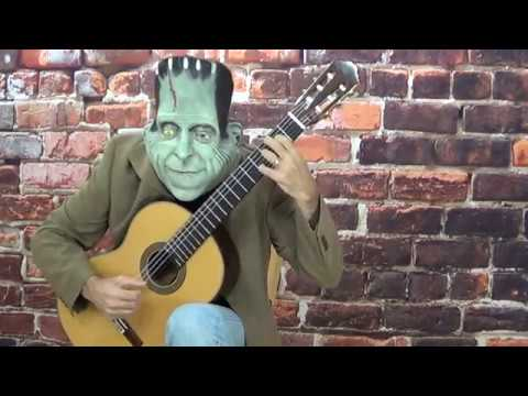 The Munsters Theme solo guitar