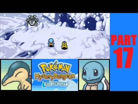 Let's Play Pokemon Mystery Dungeon: Blue Rescue Team - Part 17 - Continuous Cold